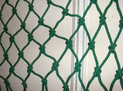 Vertical debris netting description for building construction