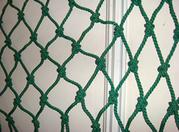 Vertical debris netting description for building construction